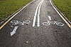 Photo 300 DPI: Bicycle road