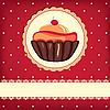 ID 3110604 | Nette Geburtstagskarte mit Kuchen | Illustration mit hoher Auflösung | CLIPARTO