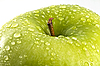 ID 3111741 | Green apple with water drops | High resolution stock photo | CLIPARTO