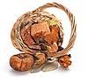 ID 3166906 | Herbst-Objekte. Thanksgiving-Tages-Karte mit Kürbis | Foto mit hoher Auflösung | CLIPARTO