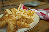 Fish and chips   Stock Foto