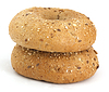 ID 3313329 | Two bagels | High resolution stock photo | CLIPARTO