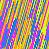 Vector clipart: Abstract background with multicolor lines