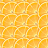 Background with citrus-fruit of orange slices | Stock Vector Graphics