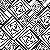 Vector clipart: Black-and-white background with squares