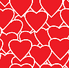 Vector clipart: Valentine's day seamless background.