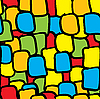 Vector clipart: Multicolor tiles seamless background.