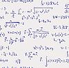 Математические формулы - бесшовный фон
