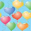 Vector clipart: Valentine's day abstract seamless background