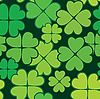 Patrick's day seamless background