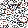 Vector clipart: twist-line background. Seamless.