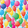 Vector clipart: balloons background