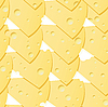Vector clipart: cheese background.