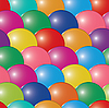 Vector clipart: bubbles multicolor background. Seamless