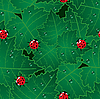 Vector clipart: red bugs background