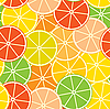 Vector clipart: citrus background