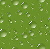 Vector clipart: green bubbles background.