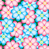 Vector clipart: flowers background.