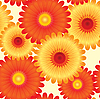 Vector clipart: flowers background
