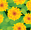 Vector clipart: Flowers background. Seamless.