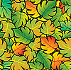 Vector clipart: Leaf abstract background.