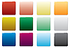 Vector clipart: Free colored buttons set.