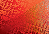 Abstract orange background. Digits. Grunge.