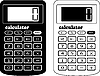 Vector clipart: financial calculator