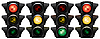 Vector clipart: Traffic-light