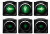 Vector clipart: Additional traffic light