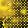 Vector clipart: Abstract yellow background with tiles.