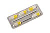 Photo 300 DPI: Yellow-white pills in blister