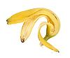 Skórki banana   Stock Foto