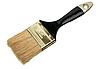 Фото 300 DPI: кисть с черной рукояткой из дерева