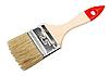 Фото 300 DPI: кисть с красной рукояткой из дерева