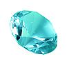 Blue crystal diamond | Stock Foto