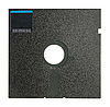 Single 5.25 Floppy Disk | Stock Foto