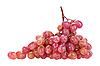 Bunch of pink grape | Stock Foto