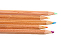 Photo 300 DPI: Set of multicolored wood pencils