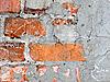 Dirty brick wall grunge background | Stock Foto
