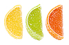 Sweets as citrus fruits | Stock Foto