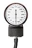 指标复古血压计 | 免版税照片