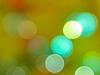 Bokeh in green-orange palette | Stock Foto