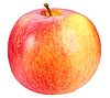 Red-yellow apple | Stock Foto