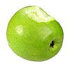 Bitten apple | Stock Foto