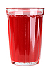 Glass with red drink | Stock Foto