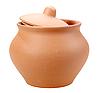 Closed ceramic pot | Stock Foto