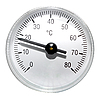 Photo 300 DPI: Single round thermometer