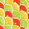 Background with citrus-fruit slices | Stock Foto