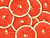Tło z grejpfrutów plasterków | Stock Foto